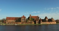 Castle of the Teutonic Order in Malbork Poland