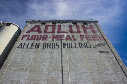 The Adluh Flour Mill situated in the midst of The Vista