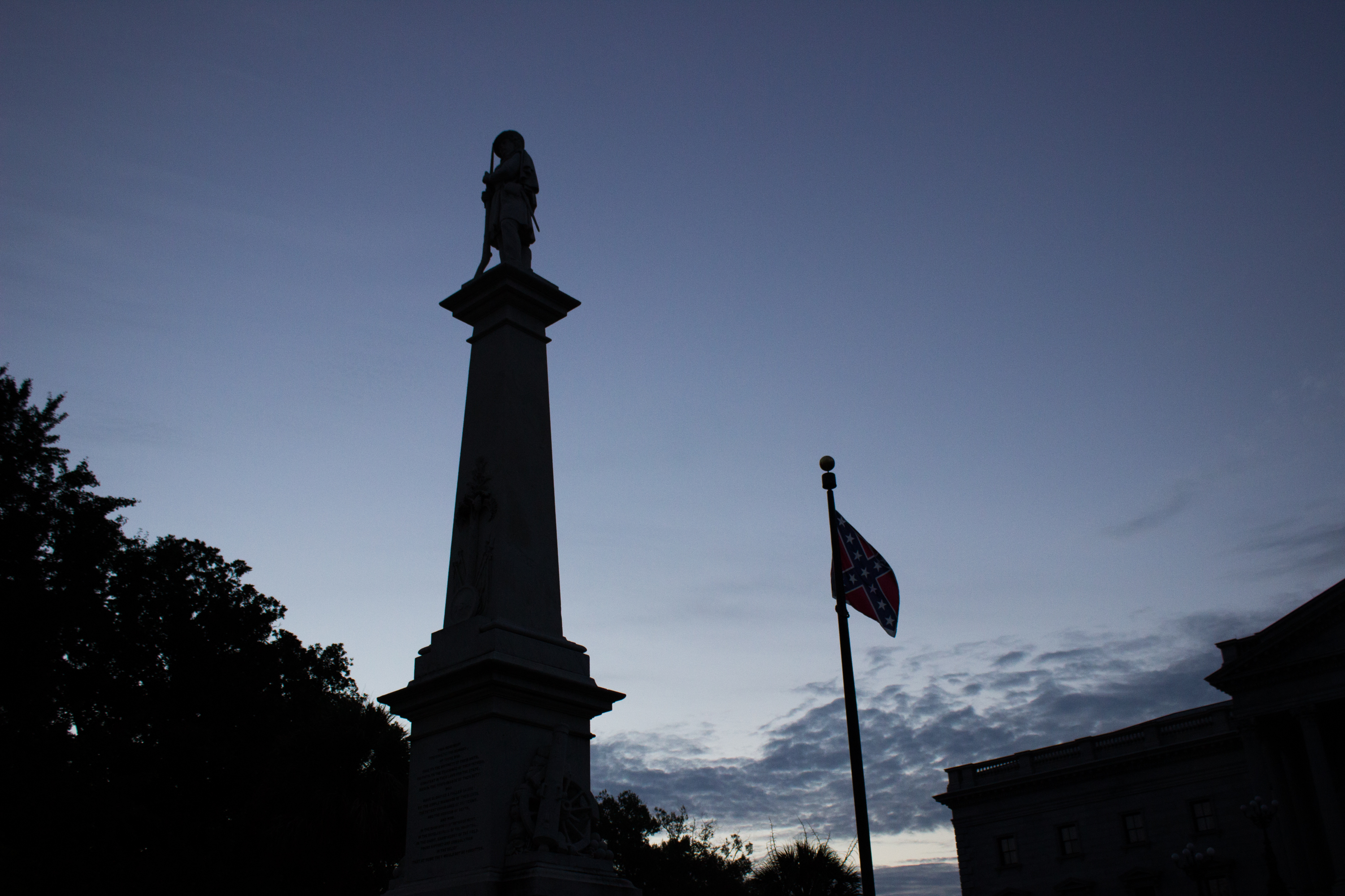 Memorial to Veterans of the Civil War (on Monday Morning)