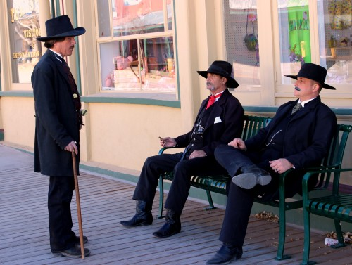 Actors in Tombstone, AZ