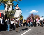 Honk Festival - Woman on Stilts