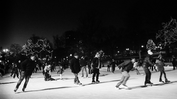 This so-called form of skating on ice is something that Bob witnessed ...