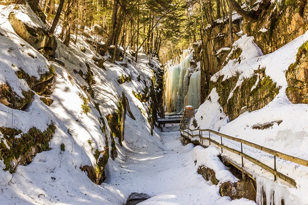 Flume Gorge in the Afternoon