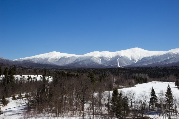 Mount Washington Hotel - View from the Rear Porch