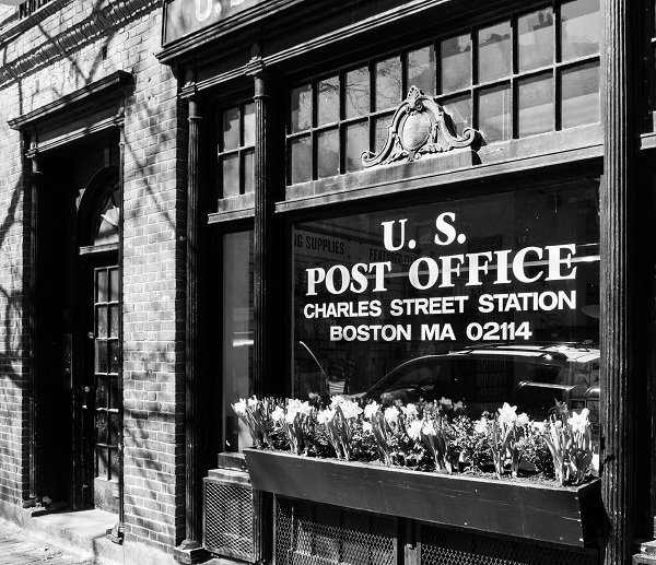 Post Office - Monochrome
