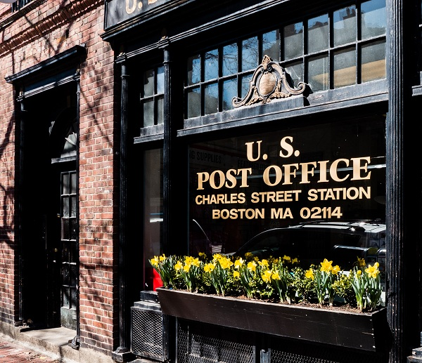US Post Office Charles Street Station