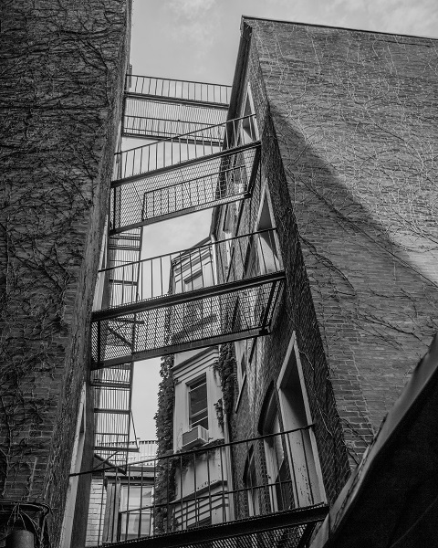 Pinkney Street - Fire Escape