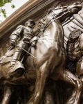 Shaw Memorial - Shaw and Horse