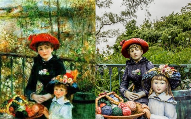 Renoir - On the Terrace and Sewell Johnson - Family Secret