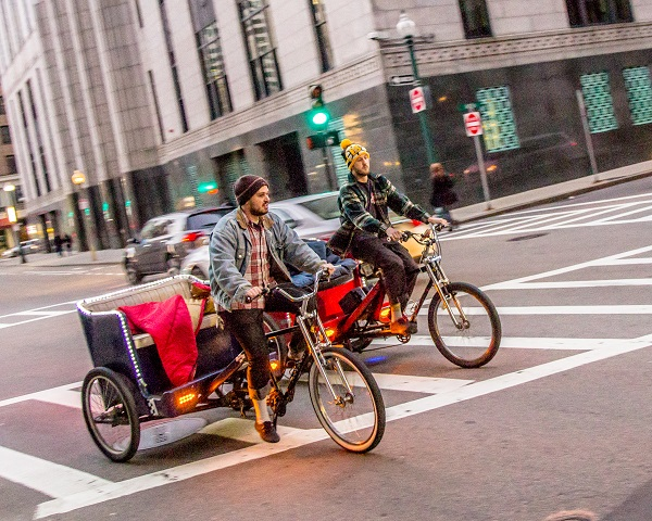 Racing Pedicabs