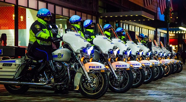 Boston Police Motorcycle Patrol