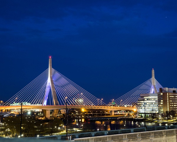 Zakim Blue Hour