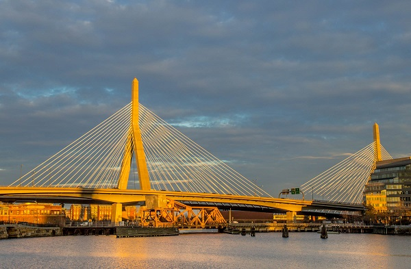 Zakim Bridge Sunset