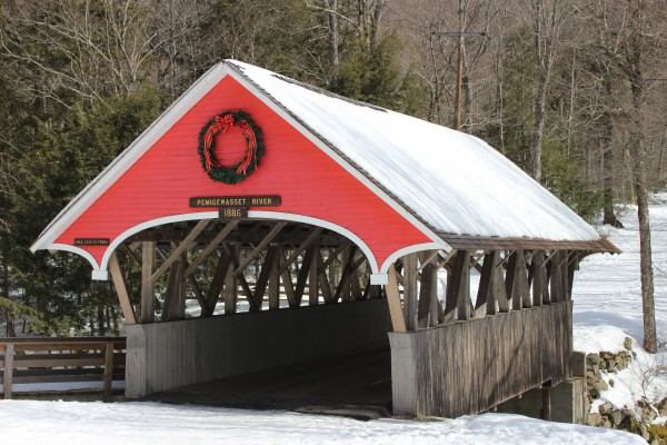 Flume Covered Bridge