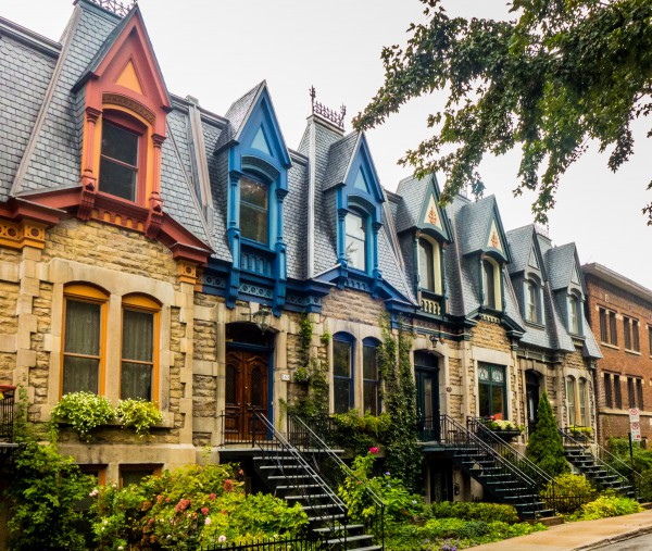 Plateau Montreal Townhouses