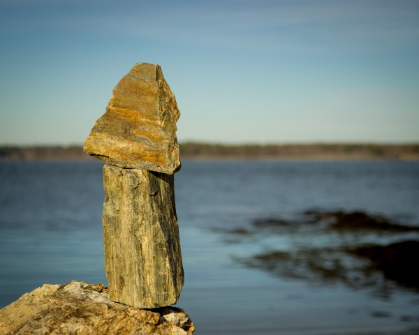 Sea Side Cairn