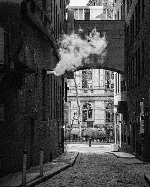 Smoking Downtown