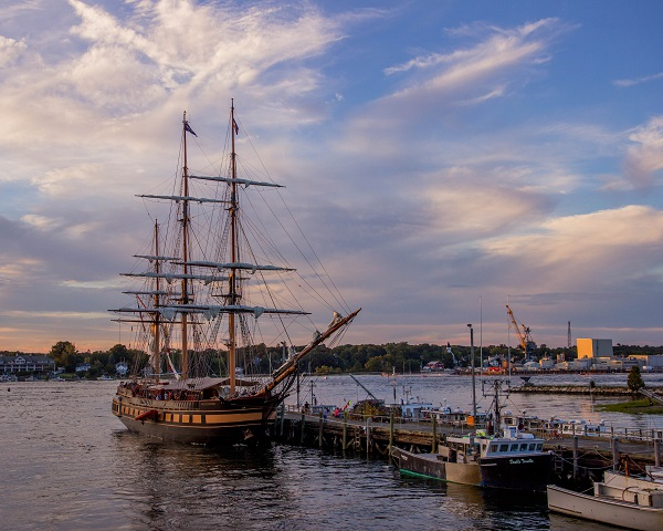 Oliver Hazard Perry at Fishing Dock