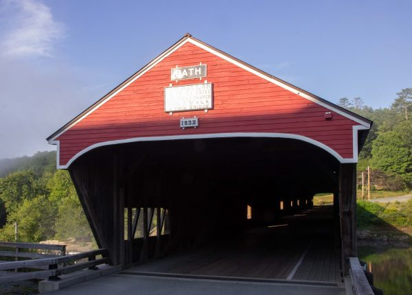 bath bridge, kissin bridge, kissing bridge, bath, NH, new hampshire